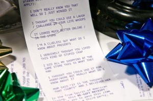 Gift receipts are an essential backup tool in case your Black Friday gifts backfire.