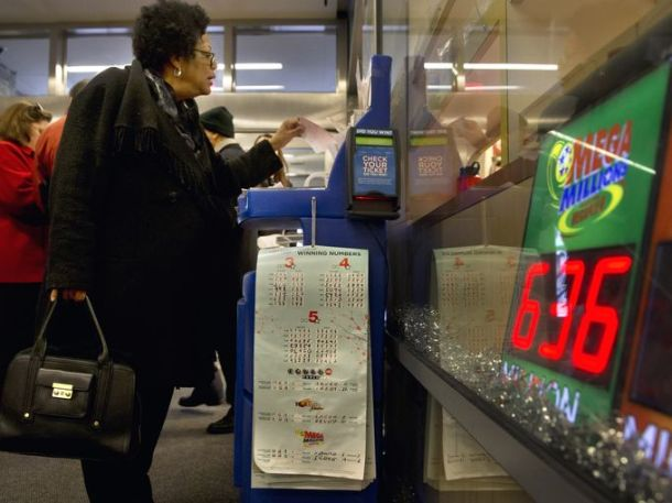 The winning numbers for the Mega Millions lottery were announced on Tuesday.