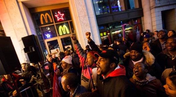 Fast-food employees are reportedly planning a strike in 100 cities across the country on Thursday to protest improper wages. This is being done to follow-up on the strike held this past summer, which saw demonstrations in 60 cities.