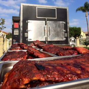Prior to opening his restaurant, Ray would sell his smoked ribs out of his backyard.